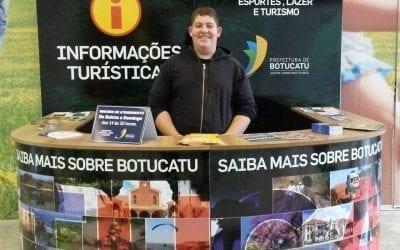 Informações Turísticas no Shopping Botucatu