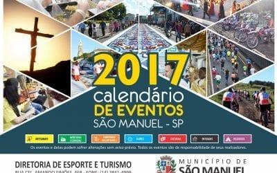 São Manuel lança calendário unificado de eventos